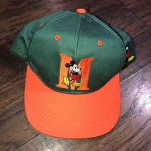 Vintage Disney Mickey Mouse embroidered kids hat